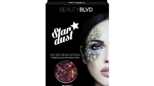 Beauty Blvd Odyssey Stardust – Face, Body & Hair Glitter Kit