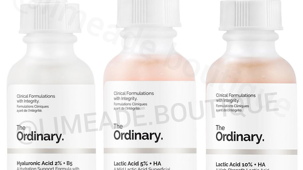 The Ordinary Lactic Collection