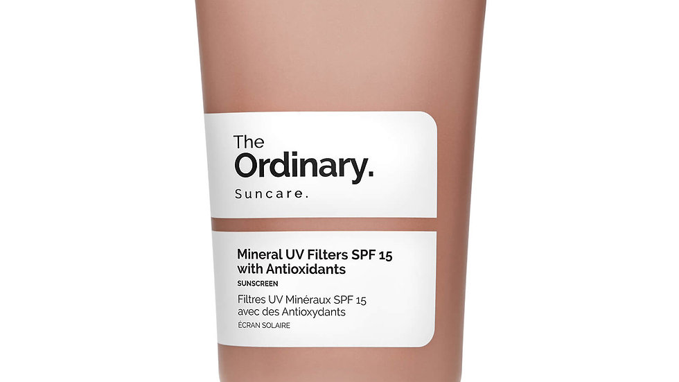 The Ordinary Mineral UV SPF 15 with antioxidants