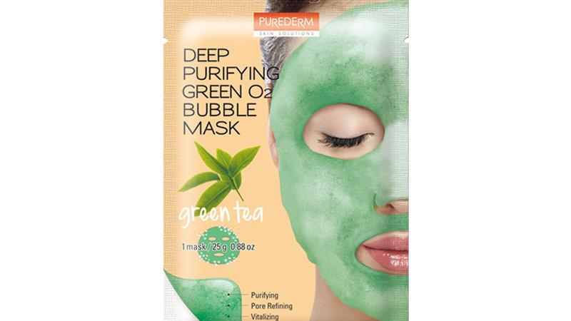 Deep Purifying Green O2 Bubble Mask Green Tea 25g