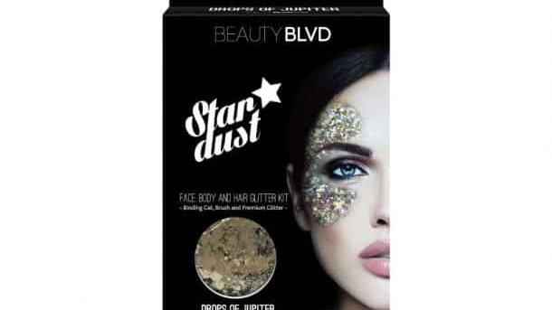 Beauty Blvd Stardust Drops of jupiter – Face, Body &; Hair Glitter