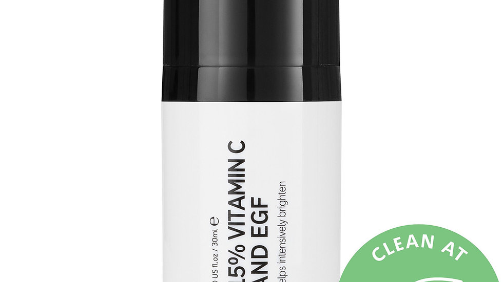 The Inkey List 15% Vitamin C and EGF Brightening Serum