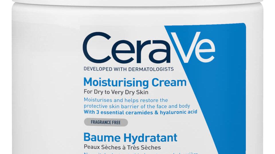 CeraVe Moisturising Cream 453g dry to very dry skin