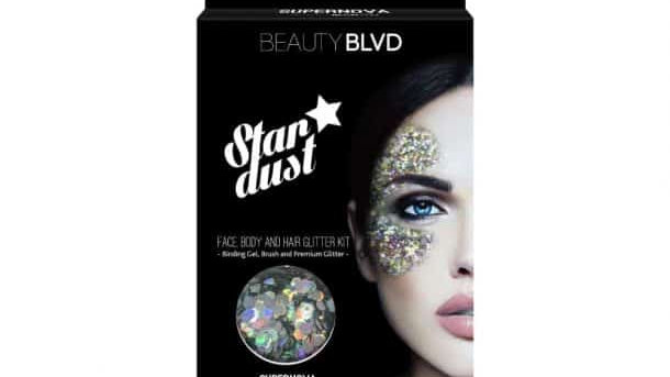 Beauty Blvd Stardust Supernova – Face, Body & Hair Glitter Kit