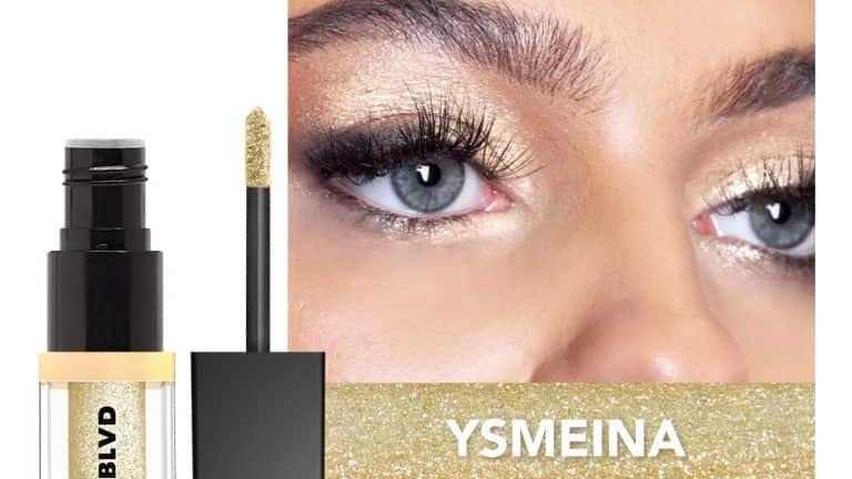 Molten Metal Glitter Eyeshadow Ysmeina