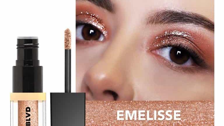 Molten Metal Glitter Eyeshadow Emelisse