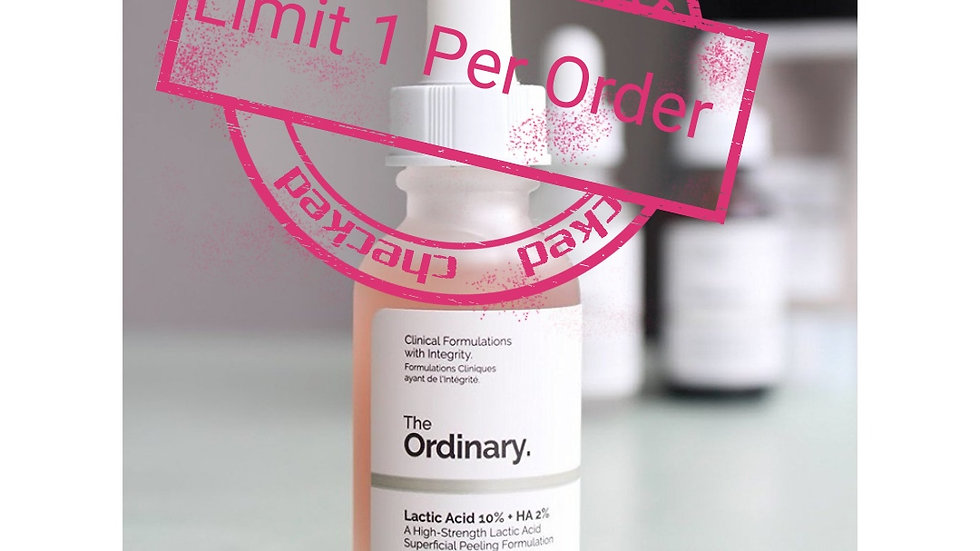 THE ORDINARY LACTIC ACID 10%