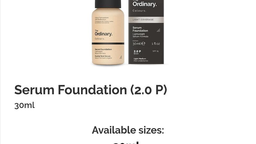 The Ordinary Serum Foundation 2.0P