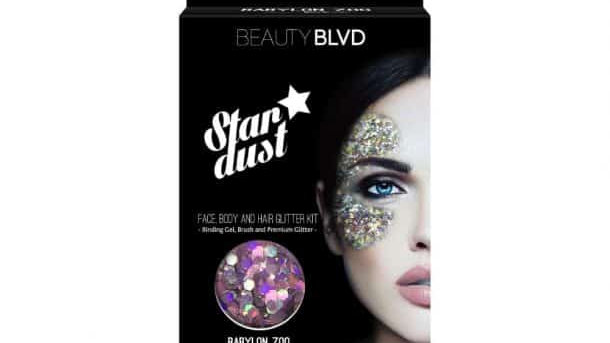 Beauty Blvd Stardust Babyloon Zoo – Face, Body & Hair Glitter Kit