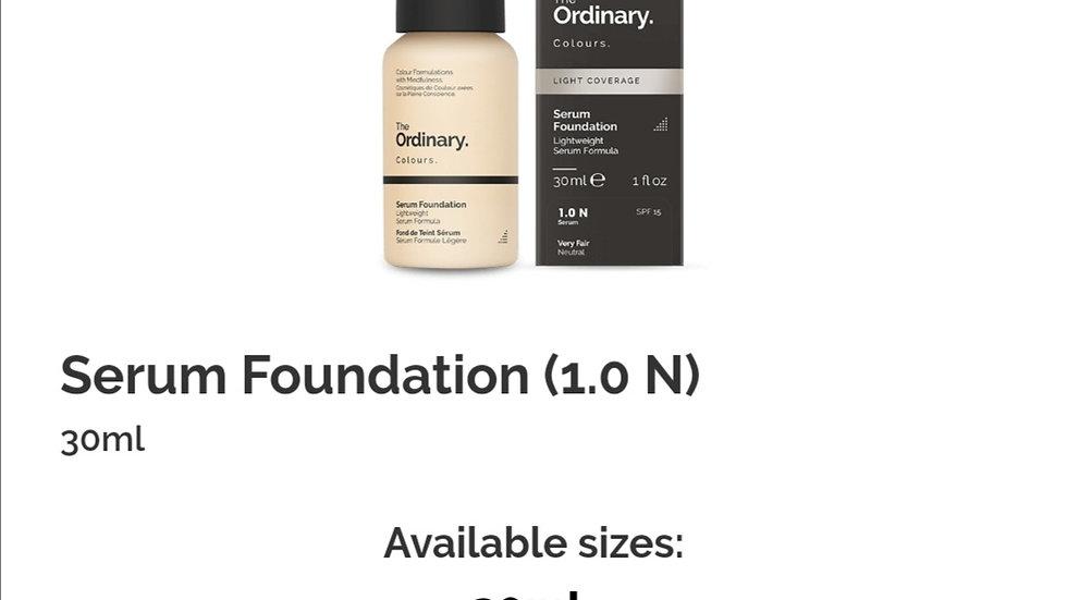 The Ordinary Serum Foundation 1.0N