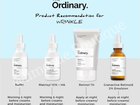 The Ordinary Recommended Skincare Products For Each Skin Type