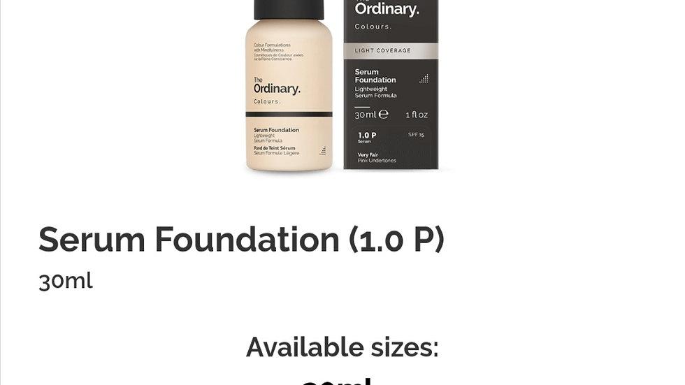 The Ordinary Serum Foundation 1.0P