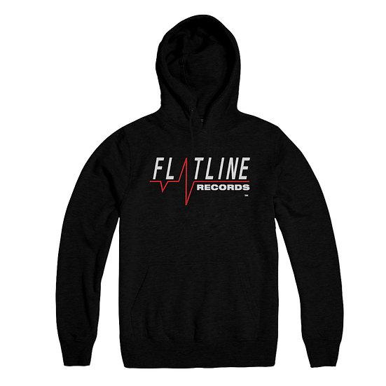 FLATLINE RECORDS Logo Hoodie