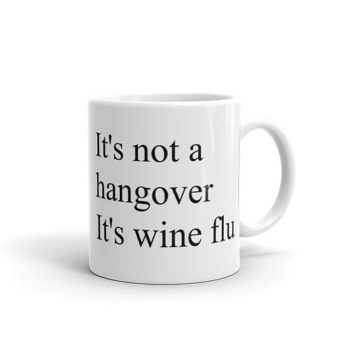 It's not a hangover It's the wine flu