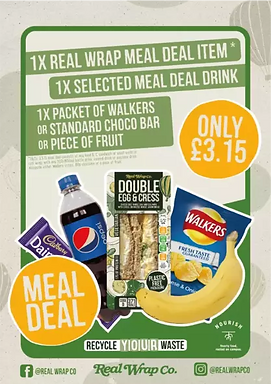 RWC Photo Meal Deal Oulet Brand Colours.