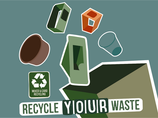 SUSTAINABILITY UPDATE - RECYCLE, RECYCLE, RECYCLE!