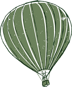 Real Wrap | Green Baloon