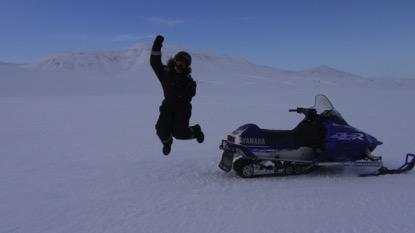 Spring fieldwork in Svalbard