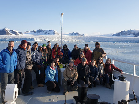Svalbard explorations: 2019 cruise and fieldwork with my MSc students