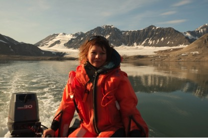 Summer fieldwork in Svalbard