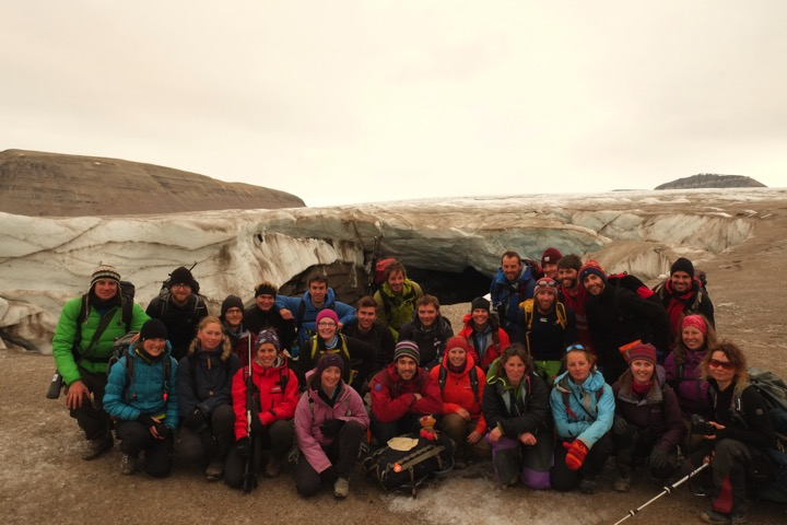 Field teaching in Svalbard