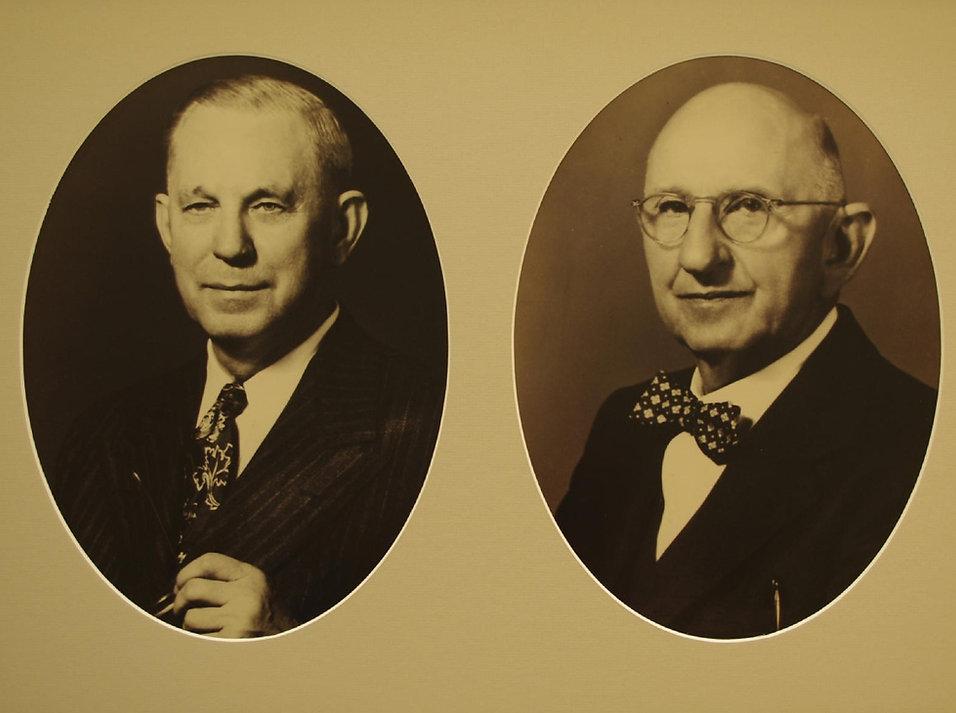 Dr. J. Frank Norris, and Louis Entzminger