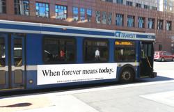 Bus Panel OOH Advertising - Divorce