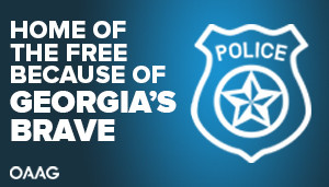 Support Law Enforcement Billboards - Outdoor Advertising Association of Georgia (OAAG) PSA