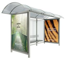 Bronx Zoo Transit Shelter Ad 3