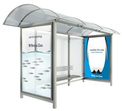 Bronx Zoo Transit Shelter Ad 2