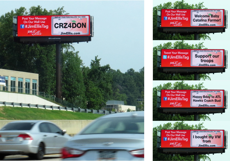 Jim Ellis Creative Billboard Ad