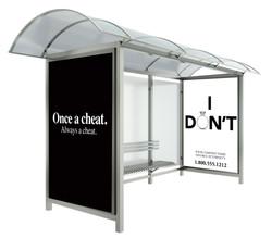 Shelter OOH Advertising - Divorce