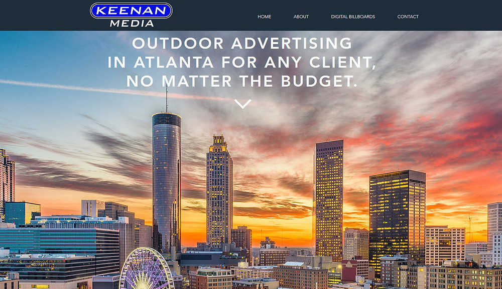 Keenan Media Website Atlanta Georgia