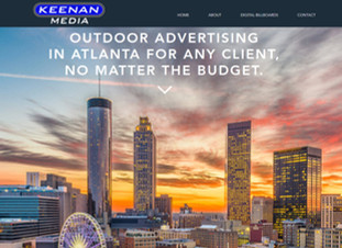 OOHC Designs Keenan Media's Website