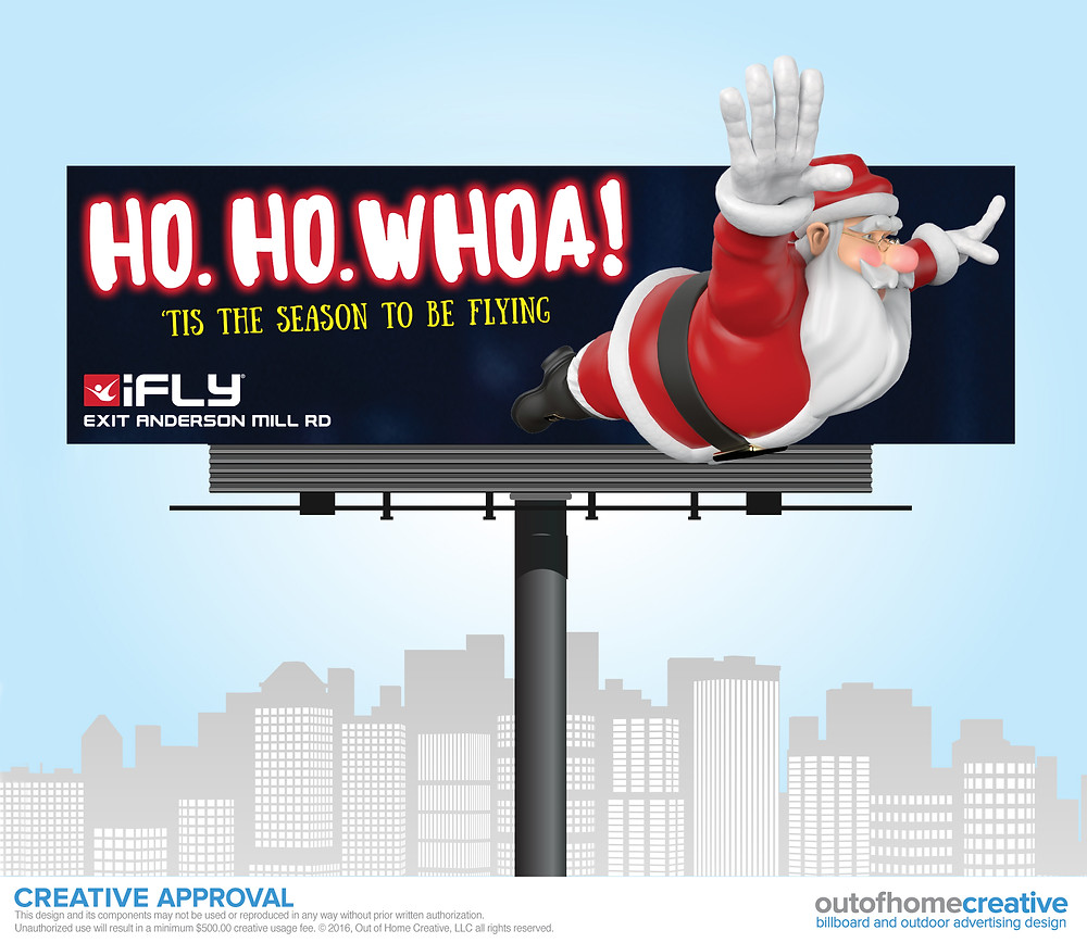 iFly Indoor Skydiving Billboard
