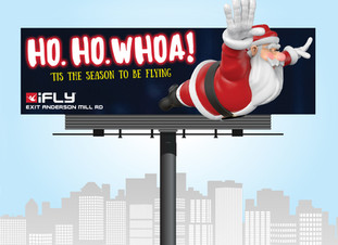 iFly Indoor Skydiving Holiday Campaign
