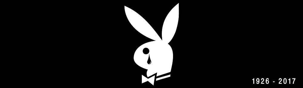 Playboy Logo Crying - Billboard idea