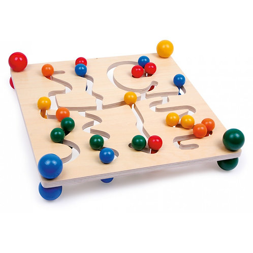 Labirinto de actividades motoras
