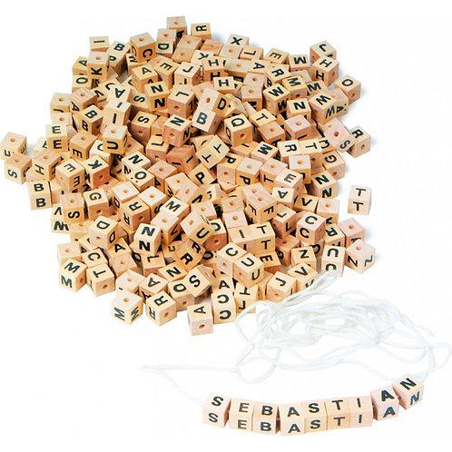 Pulseira de letras