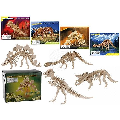 Puzzle dinossauro 3D