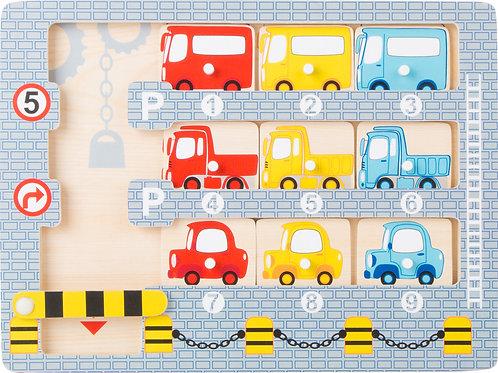 """Puzzle """"Parque de estacionamento"""""""