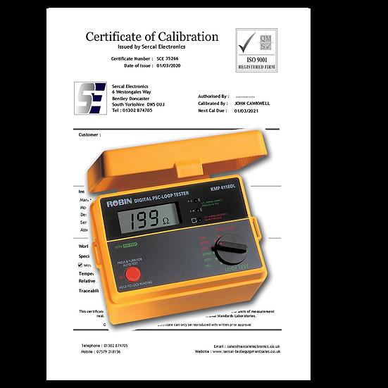 Loop Tester Calibration
