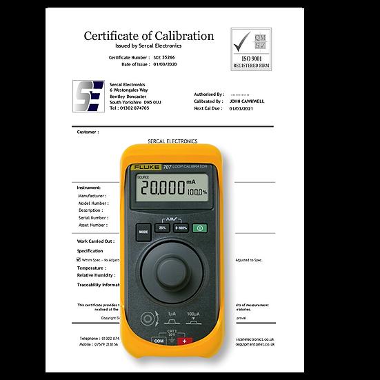 Loop Process Meter Calibration