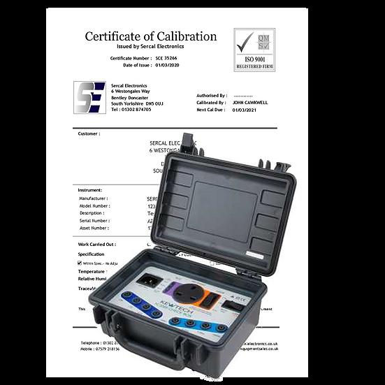 Check Box Calibration
