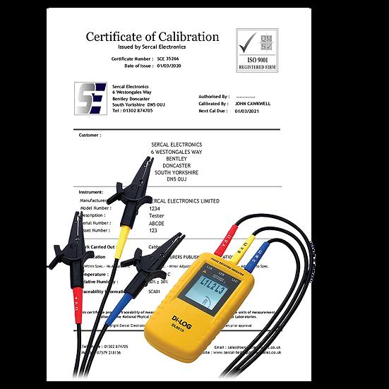 Phase Rotation Indicator Calibration