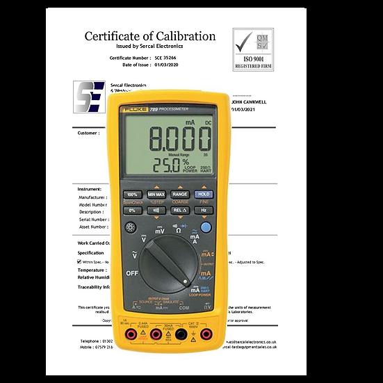 Process Meter Calibration