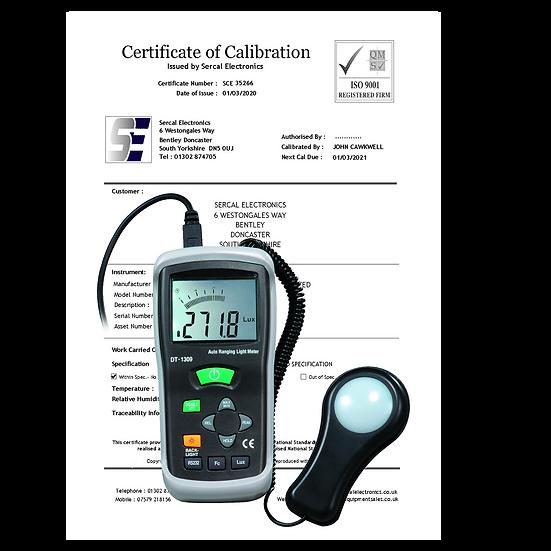Lightmeter Calibration