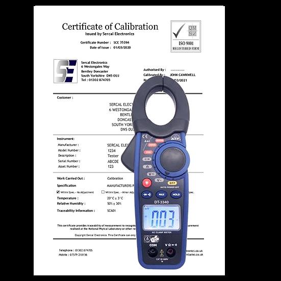 Clampmeter Calibration