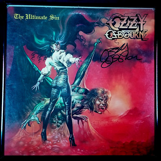 SIgned Ultimate Sin Album