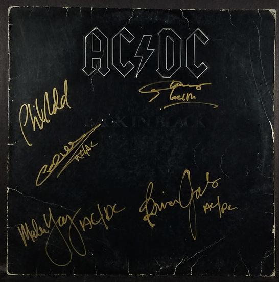 AC/DC Signed Back In Black LP